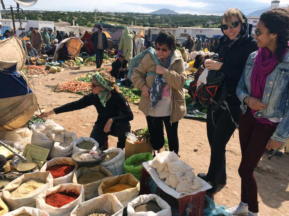 Malreisen mit Susanne Pohlmann Marokko und seine Märkte