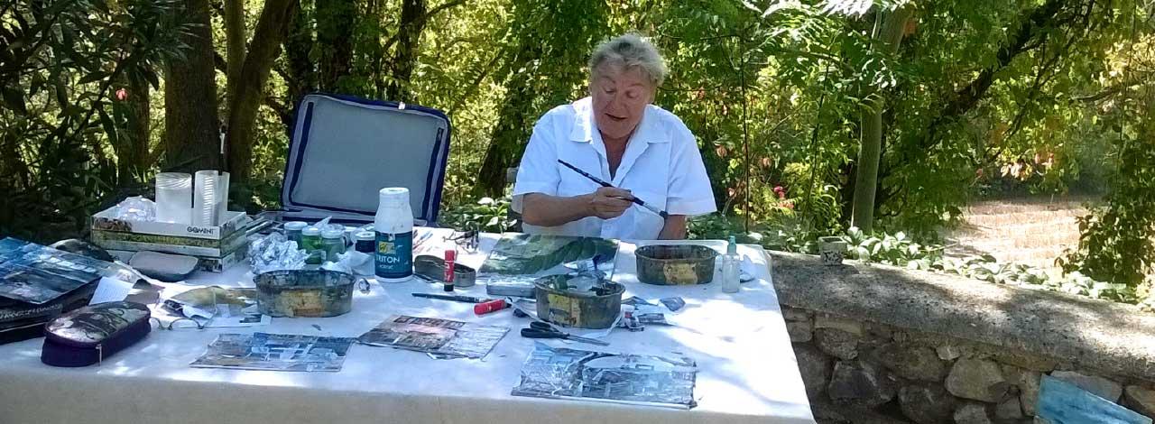 Malreisen mit Susanne Pohlmann in die Provence Frankreich