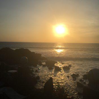 Malreise Senegal Sonnenuntergang