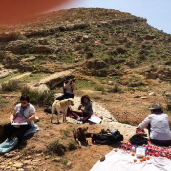 Malreisen Marokko Landschaft