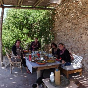 Malreisen Marokko Mittagessen